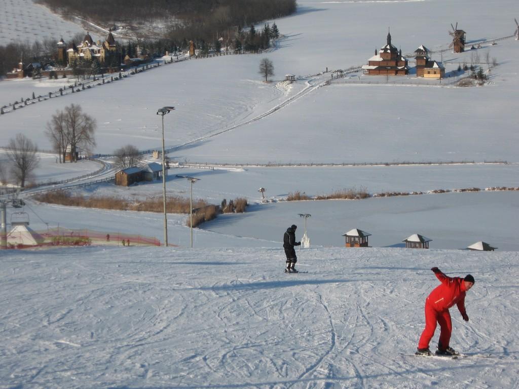 Лыжная школа Водяники