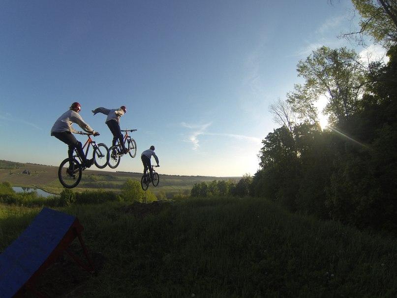 Велосипедный парк Водяники